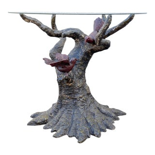 1970s Vintage Sculptural Console Table By Willy Daro For Sale