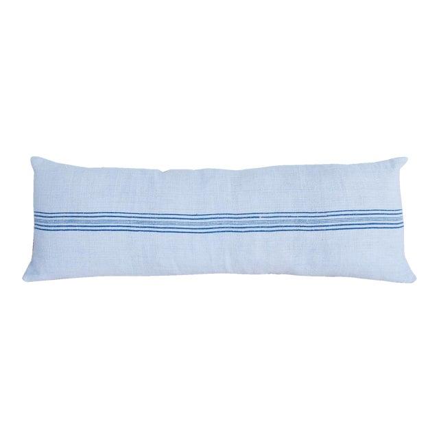 Long French Homespun Body Pillow - Image 1 of 8