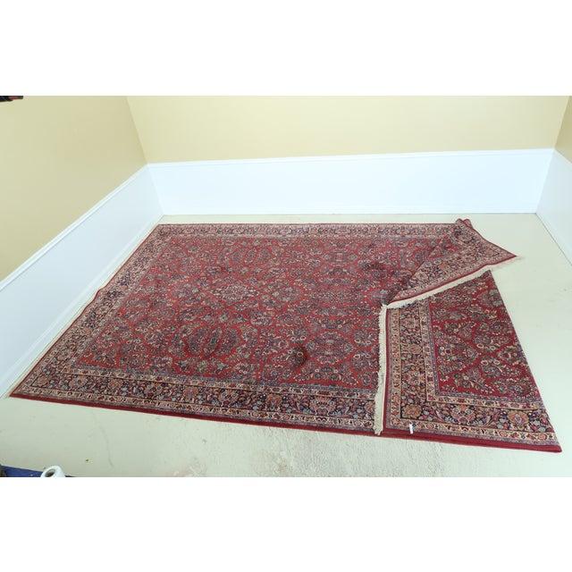 Karastan Pattern 785 Sarouk Approx 11 X 20 Rug For Sale - Image 11 of 11