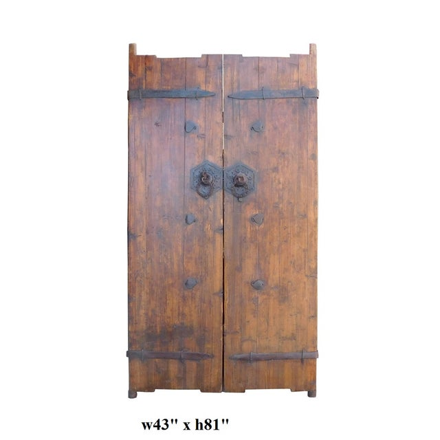 Vintage Iron Hardware Door Gate Wall Panel For Sale In San Francisco - Image 6 of 6
