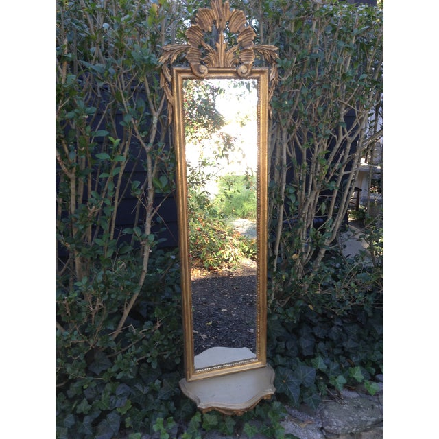 Vintage Gilded Gold Italian Rocco Mirror - Image 2 of 9