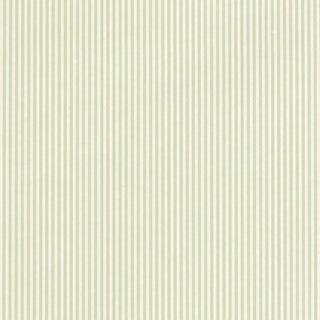 Sample - Schumacher Newport Stripe Wallpaper in Willow For Sale