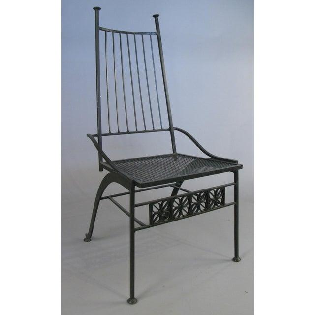 Black Set of Ten Rare Salterini El Prado Chairs For Sale - Image 8 of 13