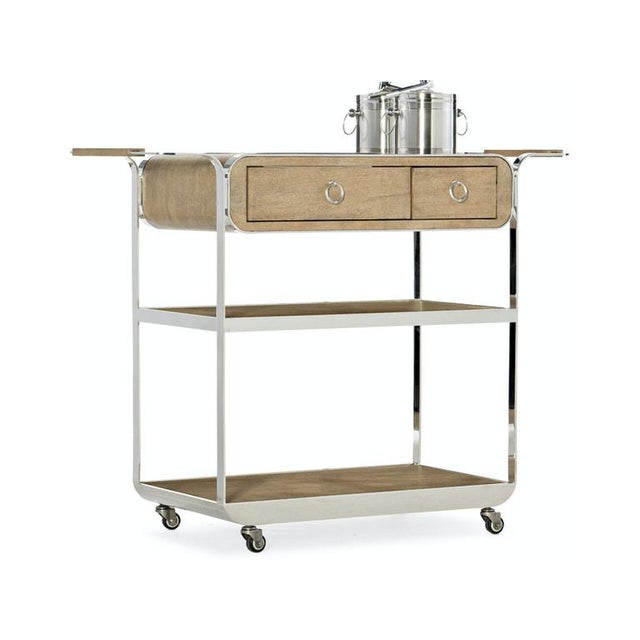 2020s Kenneth Ludwig Chicago Novelle Beach Bar Cart For Sale - Image 5 of 5