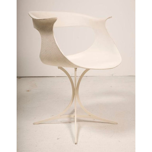 """Erwine & Estelle Laverne Erwine & Estelle Laverne Mod """"Lotus"""" Armchair For Sale - Image 4 of 7"""