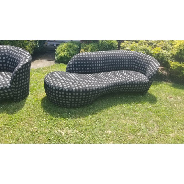 Mid-Century Modern 90's Vladimir Kagan Cloud Sofas - a Pair * Final Price * For Sale - Image 3 of 9