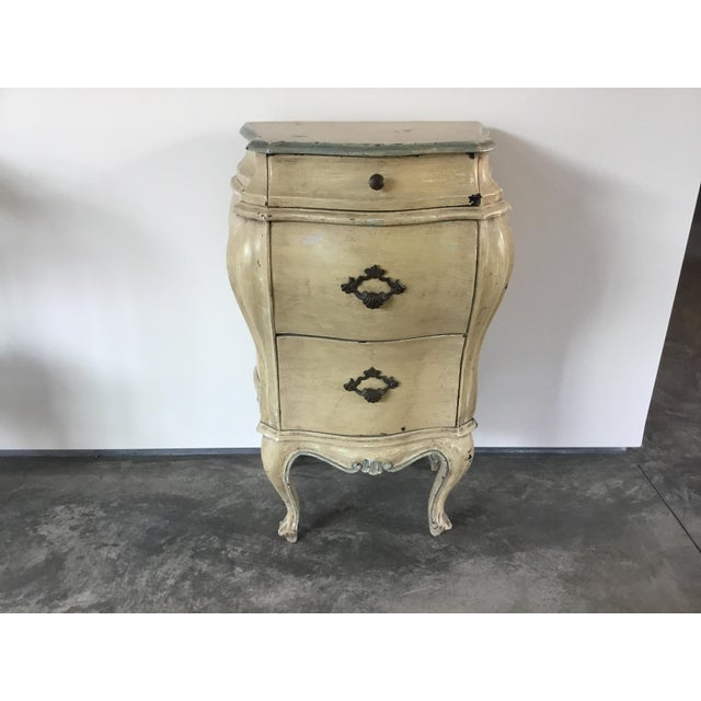 French Bombay Style Night Stand For Sale - Image 11 of 11