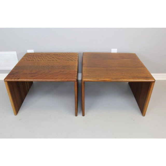 """Gerald McCabe Sedua"""" C"""" Tables - A Pair - Image 2 of 6"""