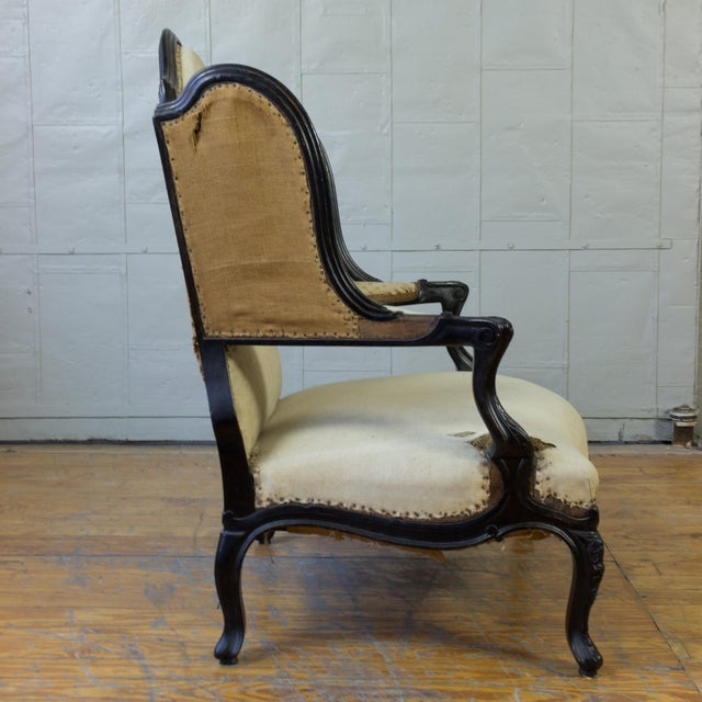 Unusual French, 19th Century Napoleon III Winged Bergere - Image 6 of 12