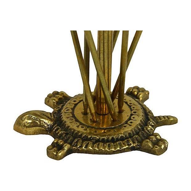 Brass Hors D'ouvrés Swords & Stand- Set of 6 - Image 3 of 7