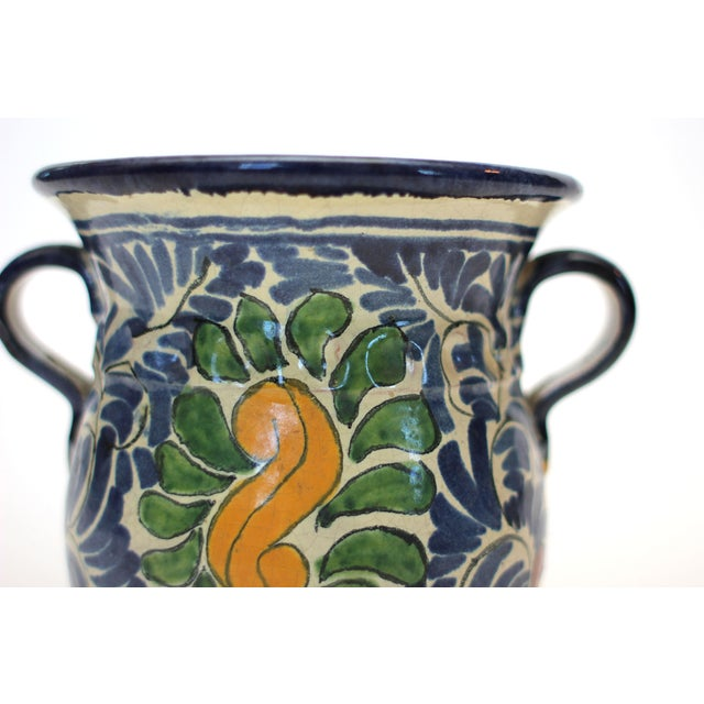 Vintage Mexican Ceramic Urn - Image 2 of 4