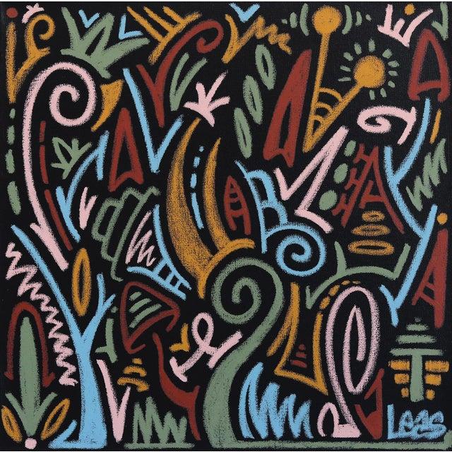 """The Jungle Awakens"" Original Artwork on Canvas by Ilan Leas For Sale"