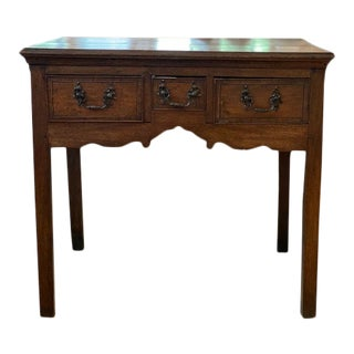 18th Century English Cotswald Side Table For Sale