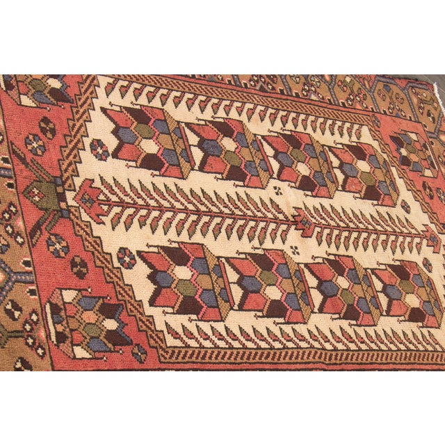 """1960s Vintage Persian Rug, 3'4"""" X 4'10"""" For Sale - Image 5 of 6"""