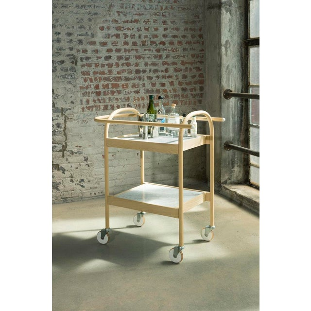 U3 Bar Cart is a highly functional movable serving cart/ tray table. The handle and the delicate edges of trays work...