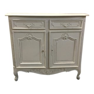 French Louis XV-Style Painted Buffet For Sale