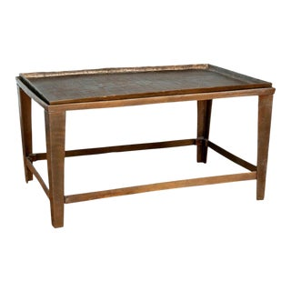 20th Century Bronze Tray Coffee Table For Sale