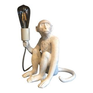 The Sitting Monkey Lamp by Seletti For Sale