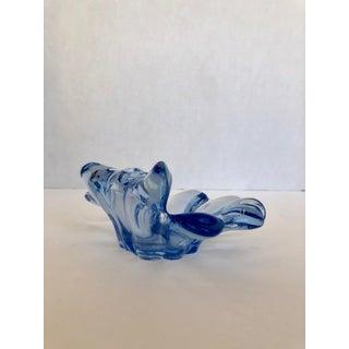 Murano Summeroso Blown Glass Blue Ashtray Preview