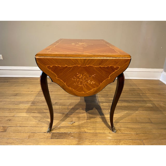 Early 20th Century Antique Louis XV Coffee Table For Sale - Image 5 of 8