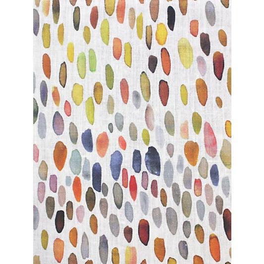 Traditional Scalamandre Jamboree Fabric, Blue/Multi For Sale - Image 3 of 3
