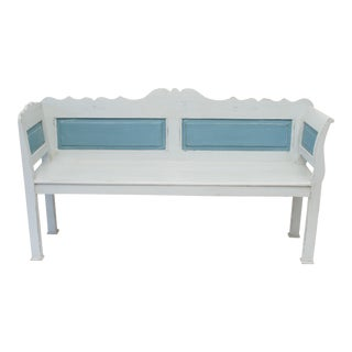 Pine Painted Bench