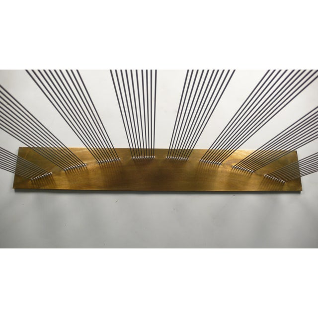 """Val Bertoia """"8 Times Sound"""" Rods Sculpture For Sale - Image 9 of 11"""
