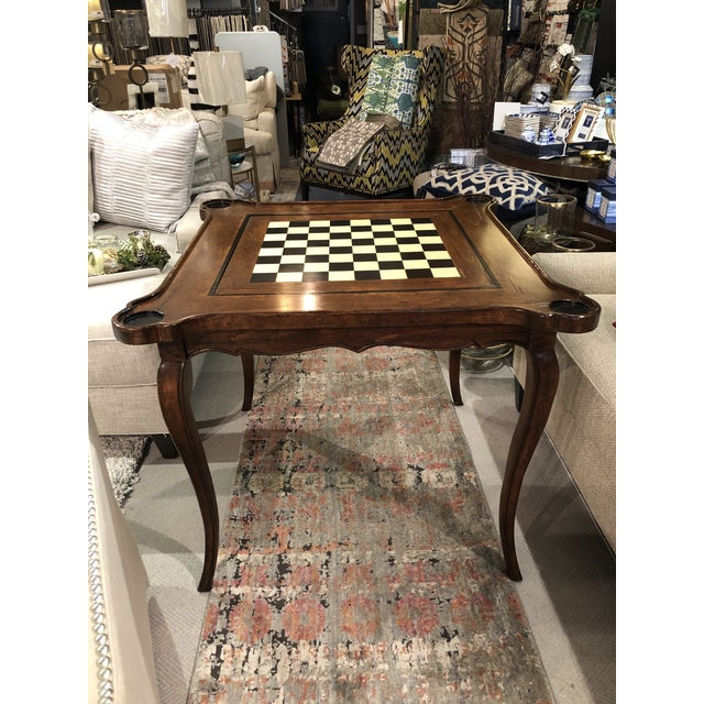 Traditional Sterling Collection French Game Table For Sale - Image 11 of 11
