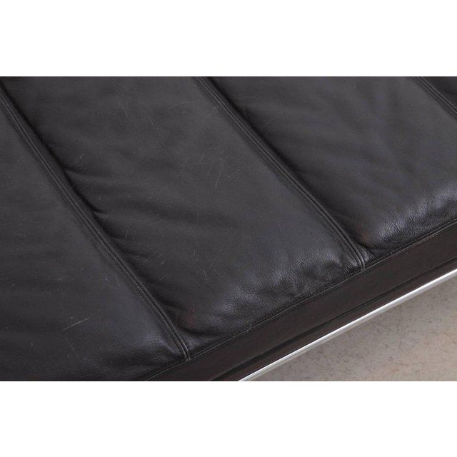 Kill International Horst Bruning Daybed in Original Black Leather and Chrome for Kill International For Sale - Image 4 of 6