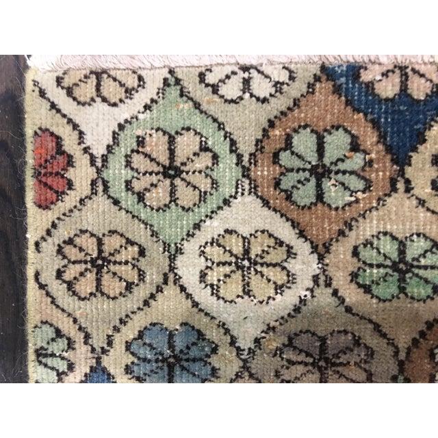 "Bellwether Rugs Vintage Turkish Zeki Muren Rug - 5'9""x7'5"" - Image 8 of 8"