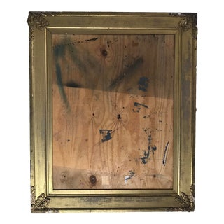 Deconstructed Modern Art in 19th Century Frame For Sale