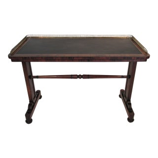 Joseph Gerte Rosewood Desk For Sale