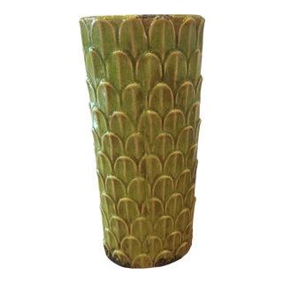 Modern Cascading Palm Leaf Vase For Sale