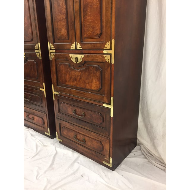 Mid-Century Asian Style Cabinets - A Pair - Image 6 of 11
