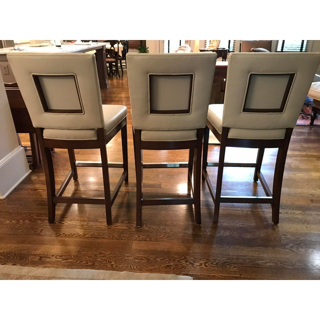 Vanguard Furniture American Classical Vanguard Juliet Counter Stools - Set of 3 For Sale - Image 4 of 8