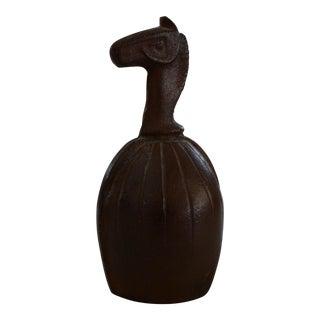 Etruscan Horse Midcentury Modern Bell