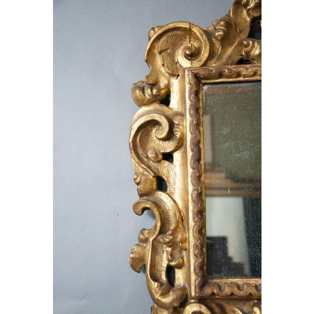 Italian Baroque Giltwood Mirror - Image 5 of 8