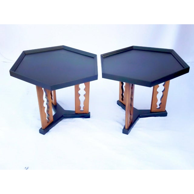 1960s Mid-Century Drexel Esperanto Drink Tables - a Pair For Sale In Phoenix - Image 6 of 6