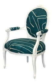 Image of Teal Corner Chairs
