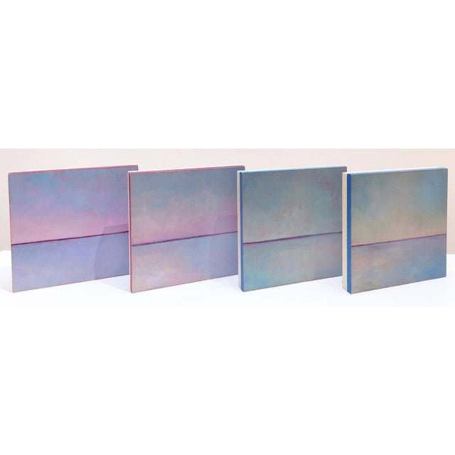 Abstract Carol C Young, Marshmallow Mauve, 2018 For Sale - Image 3 of 4