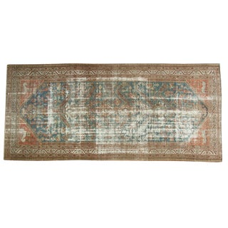 "Vintage Distressed Malayer Rug Runner - 5'6"" X 11'11"""
