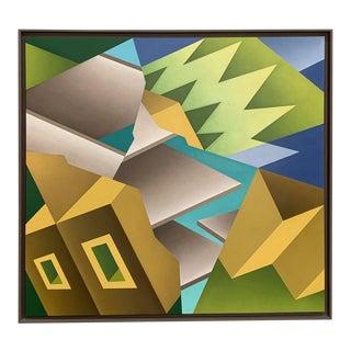 John Loy Geometric 'Trompe Loy' 1987 For Sale