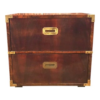 Mid Century Lane Campaign Chest of Drawers, Side Chest