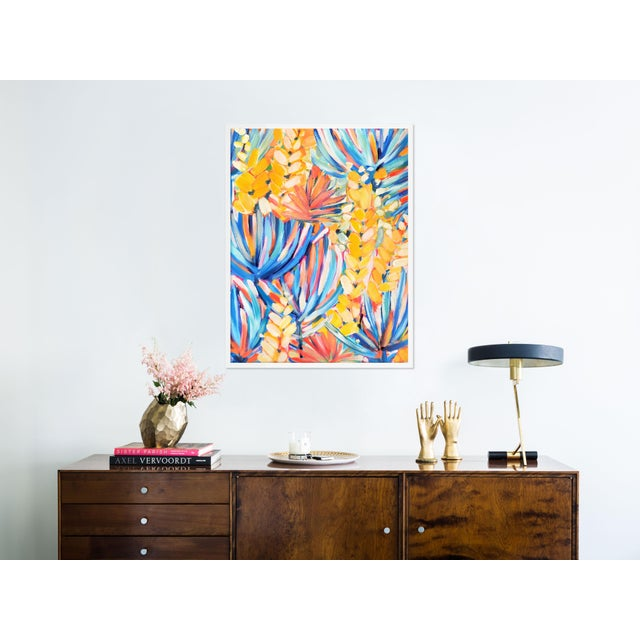 Clifton by Lulu DK in White Framed Paper, Medium Art Print Overall Size: 27.5x36. Image Size: 26.5x35. Orientation:...
