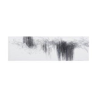 """Jaanika Peerna """"Storm Series Horizontal 43"""" Drawing For Sale"""