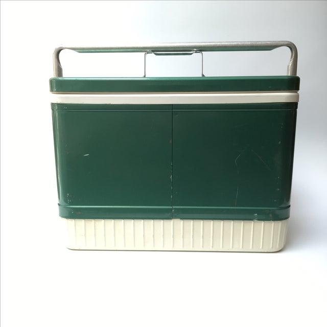 Vintage Coleman Cooler For Sale - Image 5 of 11