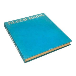 1970s Pleasure Boating, First Edition in Turquoise Blue For Sale