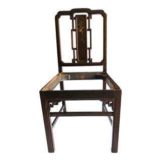 Antique Oriental Style Berkey & Gay Side Chair For Sale