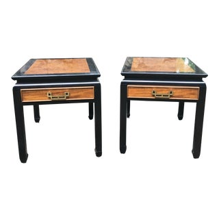 Ming Century Side Tables - a Pair For Sale