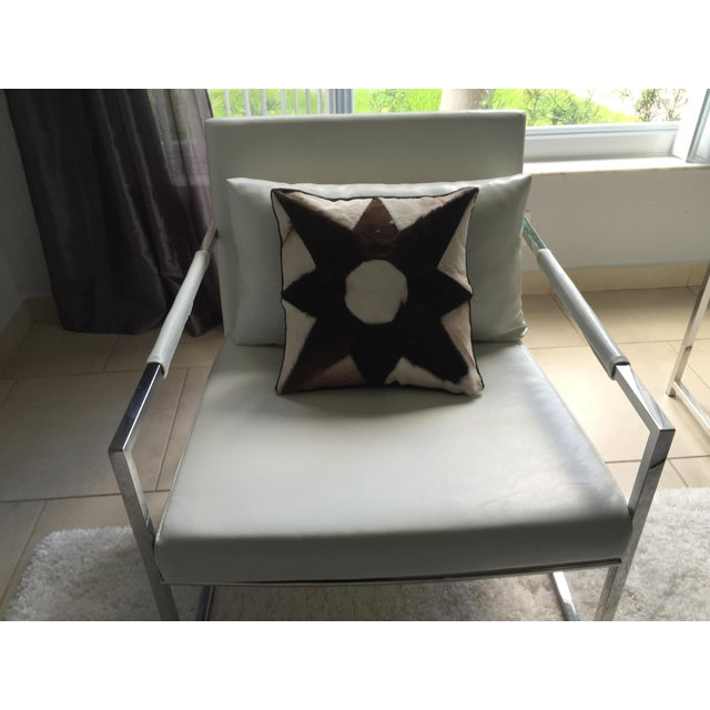 Mid-Century Cowhide Pillows - Image 4 of 5